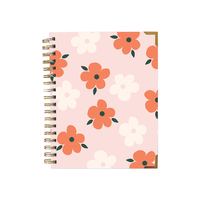 Flora diary summer pink small