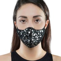 Black sequins mask small