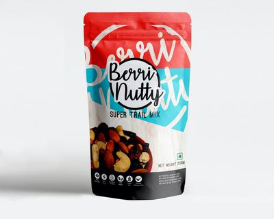 Berrinutty super trail mix 250 gms thumb