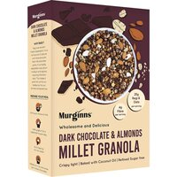 Dark chocolate and almonds millet granola small
