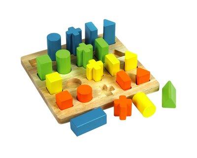 Multi shape sorting board thumb