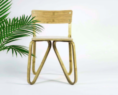 Bamboo butterfly chair thumb
