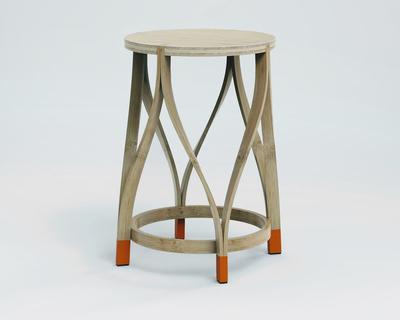 Bamboo lotus stool 1072 fst01ln thumb