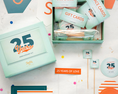 Diy 25th anniversary party kit thumb