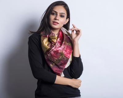 Natty : Ornate Silk Scarf