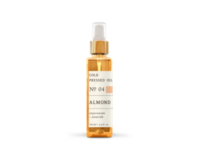 Almond cold pressed oil thumb
