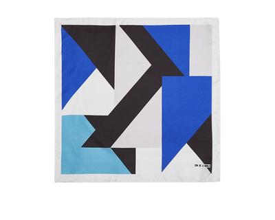 York cobalt pocket square thumb