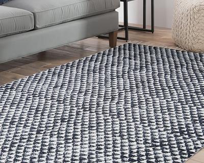 Handmade 4x6 ft jaipur 100 cotton block printed area rug 1121 rug 509 thumb