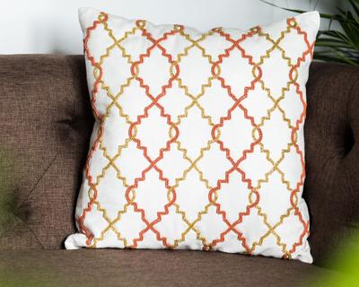 Navroz beads cushion cover thumb
