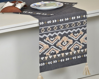 Navroz embroidered table runner thumb
