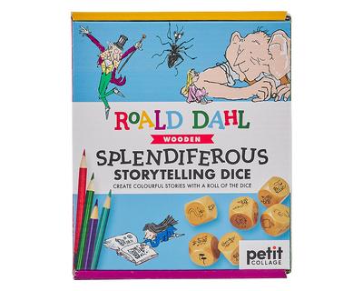 Roald dahl splendiferous storytelling dice thumb