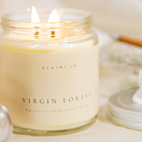Virgin forest soy wax candle small