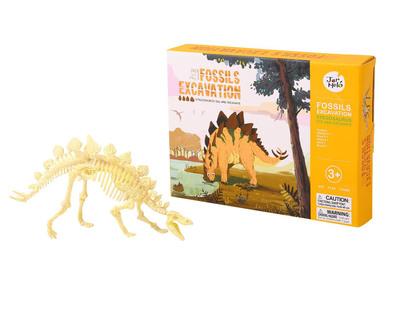Fossils excavation kit stegosaurus thumb