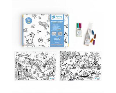 Activity mats doodle sheets thumb