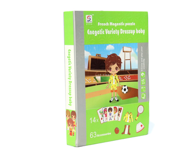 Magnet book energetic variety dress up baby thumb