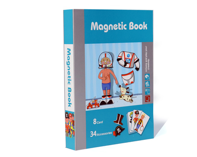 Magnet book puzzle of people s professional dressing series thumb