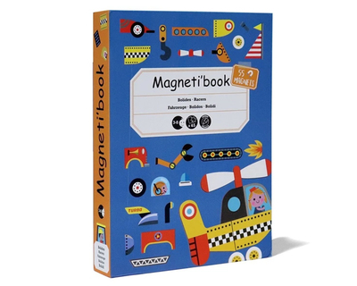 Magnet book racers thumb