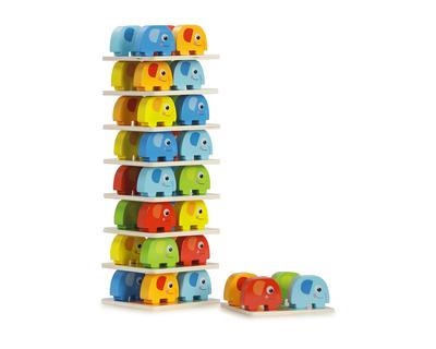 Elephant stacking balancing game thumb