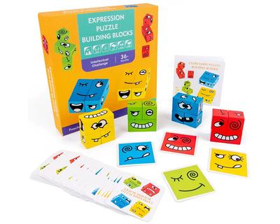 Expression puzzle building blocks thumb