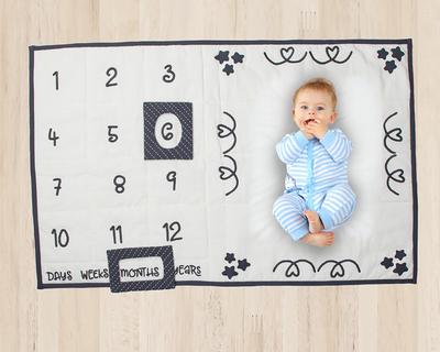 Baby milestone mat thumb