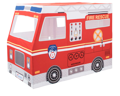 Role play deluxe fire truck playhouse tent thumb