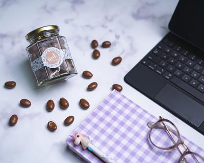 Coffee chocolate almonds thumb