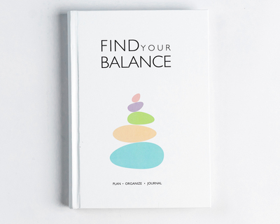 Find your balance stone white thumb