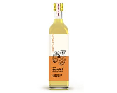 Almond oil thumb