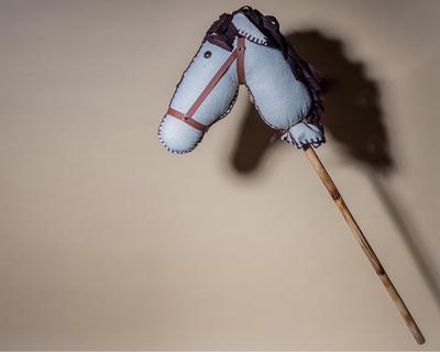 Hobby horse serene white thumb