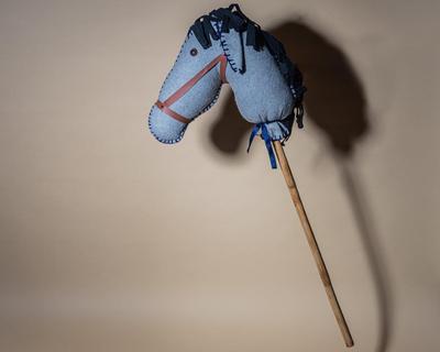 Hobby horse dusty grey thumb