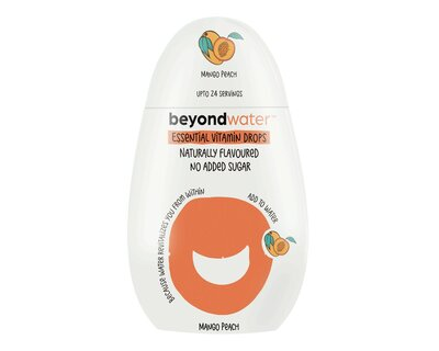 Beyond water essential vitamin drops mango peach thumb