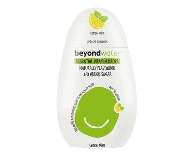 Beyond water essential vitamin drops lemon mint thumb