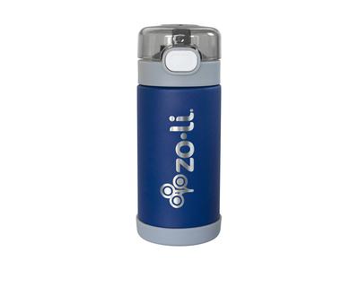 Zoli pow squeak vacuum insulated straw drink bottle navy thumb