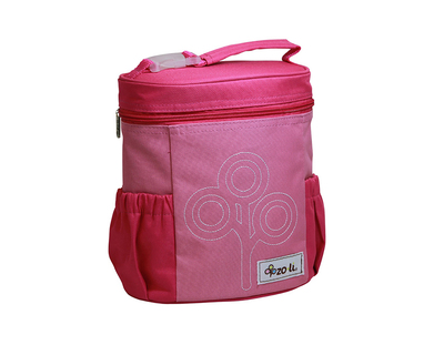 Zoli nom nom insulated lunch bag pink thumb