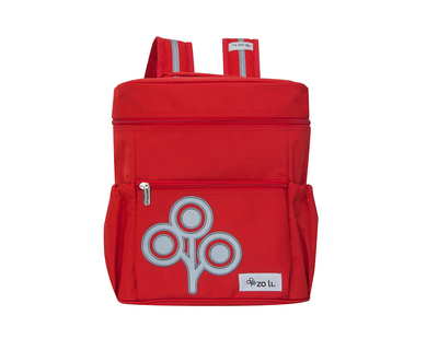 Zoli ministash backpack red thumb