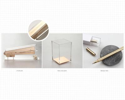 Personalised metallic desktop collection thumb
