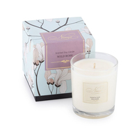 Wild rose soy candle small