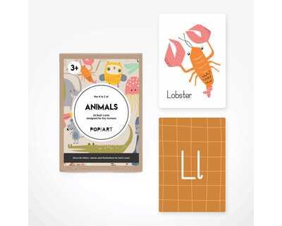 Flash cards animals thumb