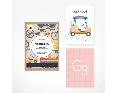 Flash cards vehicles thumb