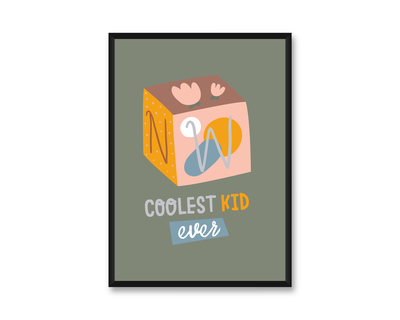 Wall frame coolest kid ever thumb