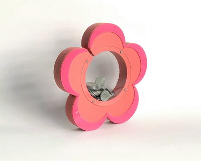 Piggy bank flower thumb