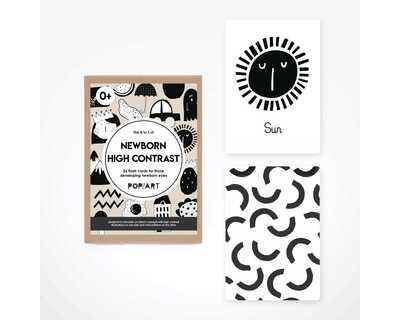 Newborn high contrast cards thumb