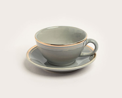 Tea cup saucer earl grey thumb