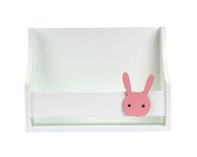 Small single bunny shelf pink thumb