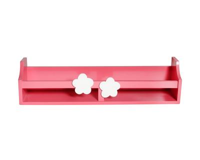 Pink flower wall shelf thumb