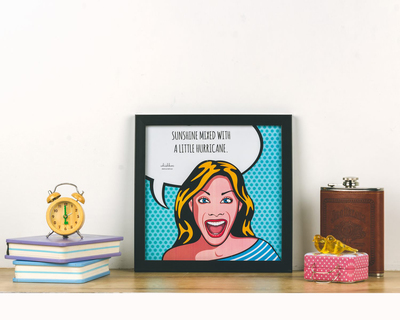Sunshine girl poster frame thumb