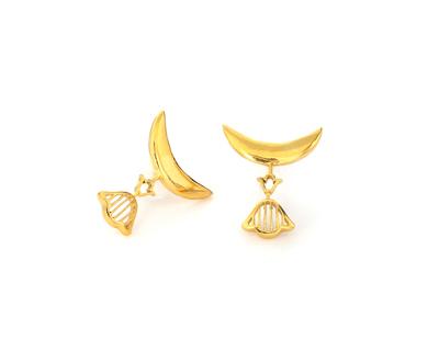 Tulip moon earrings thumb