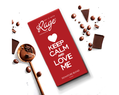 Valentines day keep calm and love me signature blend thumb