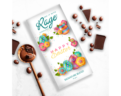 Rage easter special signature blend chocolate bar 90 gm thumb