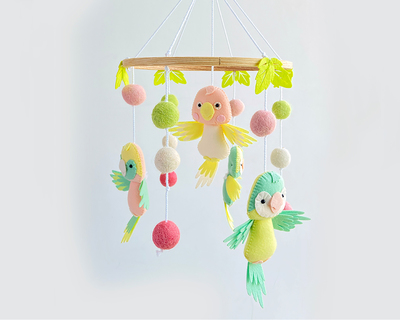 Tropical paradise cot mobile thumb